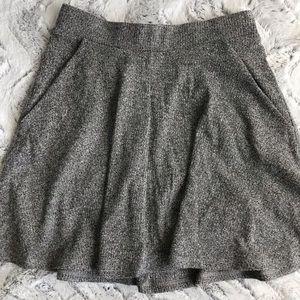 Cotton On gray marled skater skirt